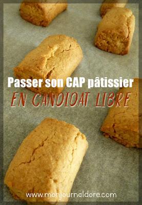 Passer son CAP pâtissier en candidat libre Pinterest