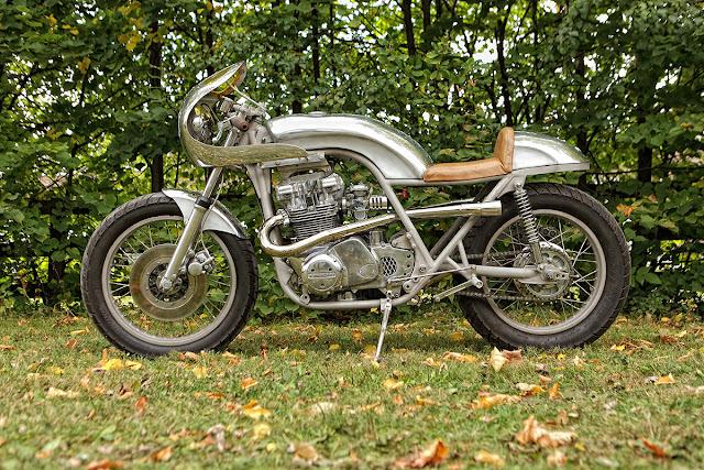Kawasaki KZ750 Cafe Racer