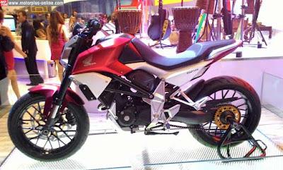 Honda SFA 150 Concept side angle show Images 2