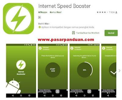 aplikasi android gratis untuk meningkatkan kecepatan internet