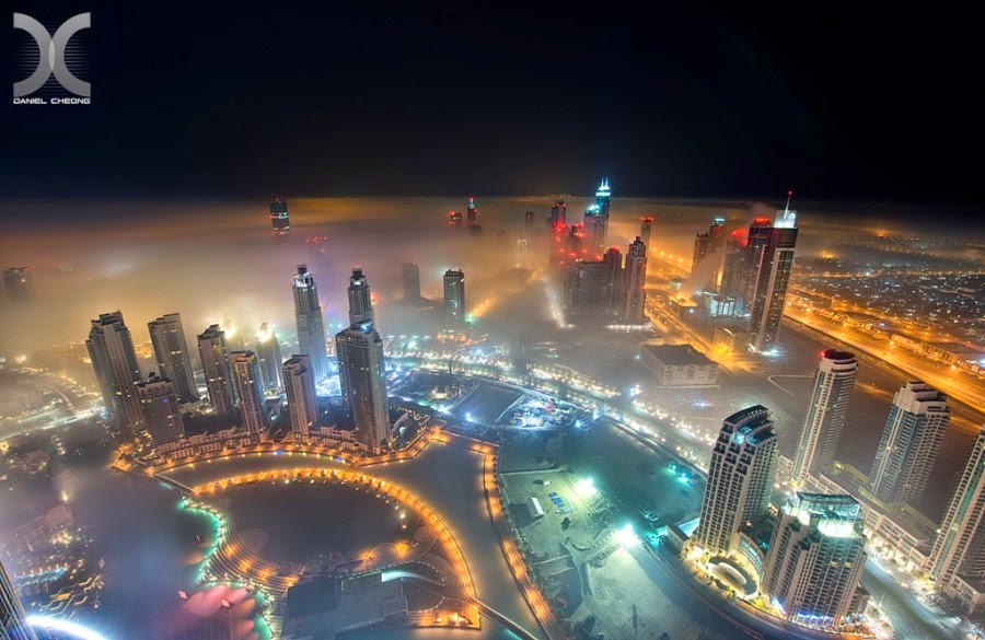 Absolutely Amazing Foggy Dubai Pictures by Daniel Cheong