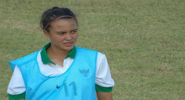 Portia Fischer, Si Cantik Pemain Bertahan Timnas U-16 Berwajah Bule