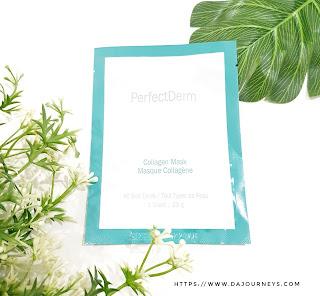 Review PerfectDerm® Collagen Face Mask