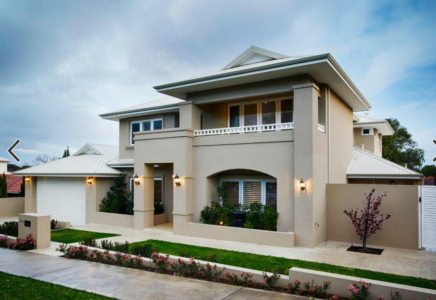 20 contemporary exterior designs that maximize space for Exterior design of 2 storey house