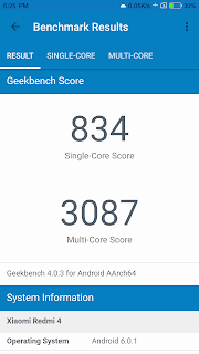 Snapdragon 625 geekbench