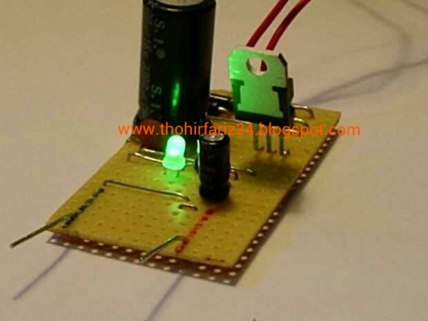 Power Supply 12 Volts 5 Amper With 2n3055