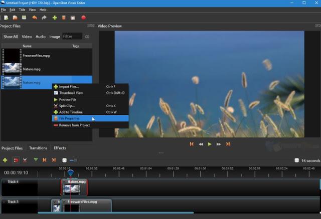 برنامج-OpenShot-Video-Editor