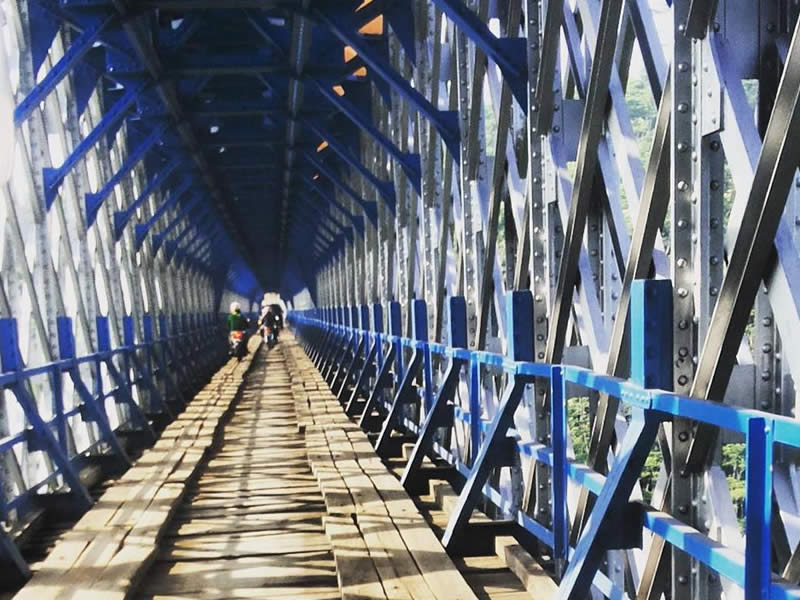 Jembatan Cirahong Tempat Wisata di Tasikmalaya Terbaru