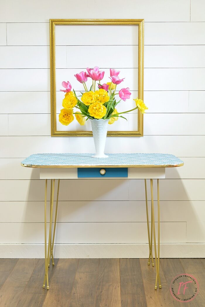 Arborite Retro Dining Table Makeover