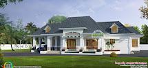 Classic Bungalow Architecture 2750 Sq-ft - Kerala Home