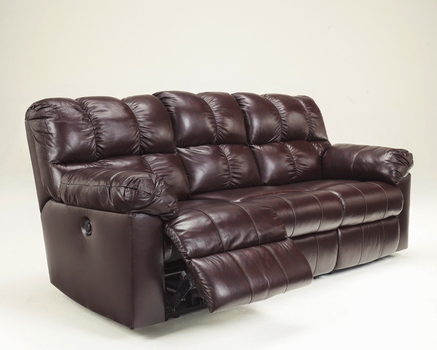 Reclining Sofas For Sale Cheap: Red Leather Reclining Sofa