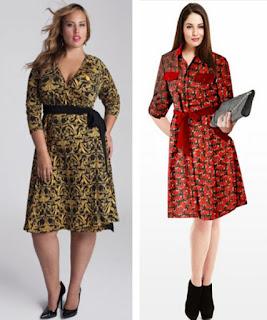 dress batik pendek untuk orang gemuk