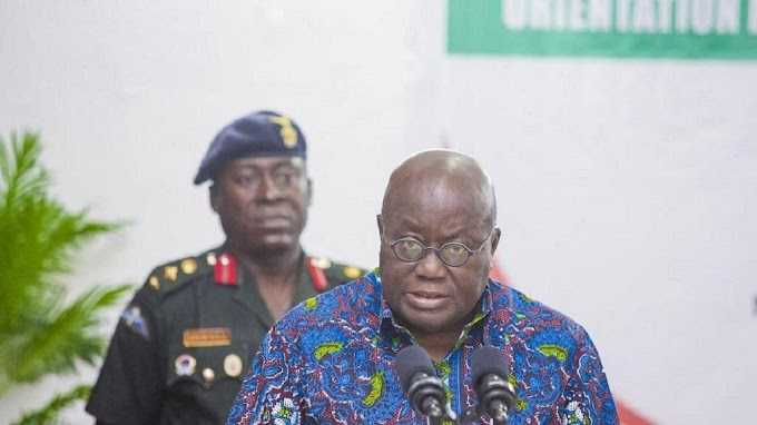 Akufo Addo says plans are underway to make country food self-sufficient