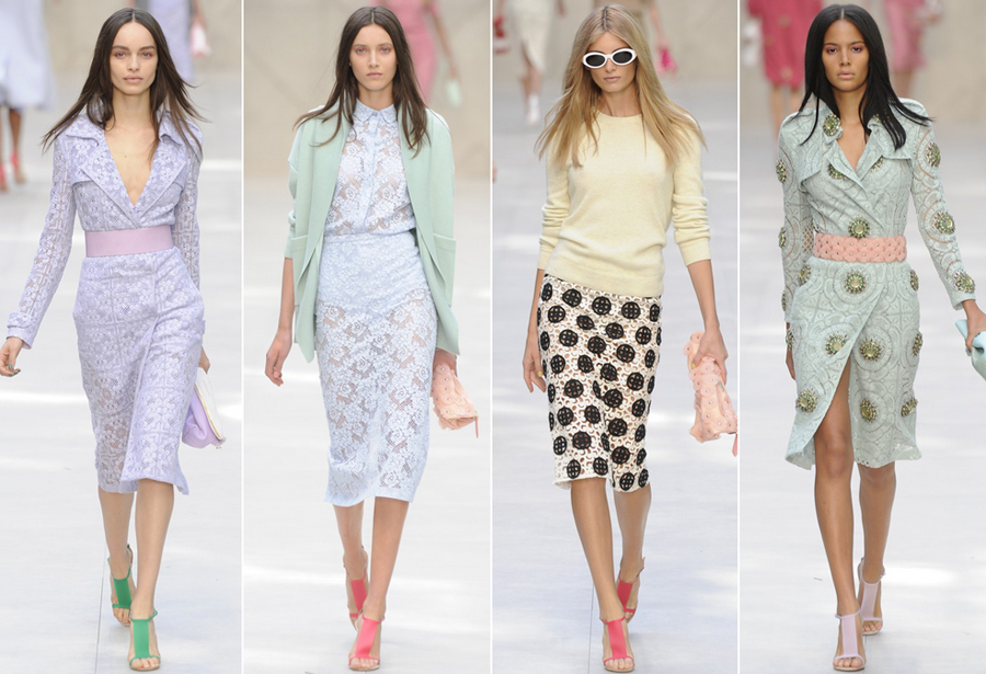 Pastels in fashion this year!