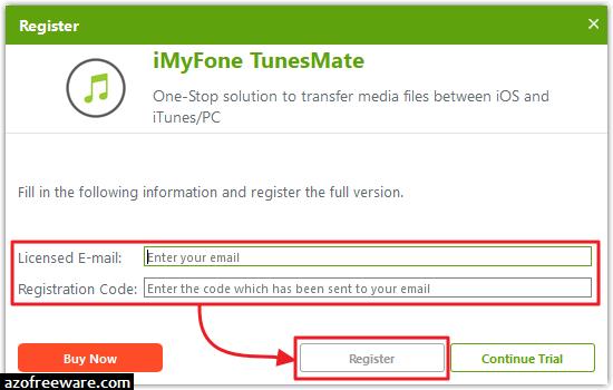 free imyfone registration key
