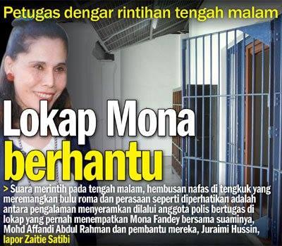 Mona Fandey boleh terapung?