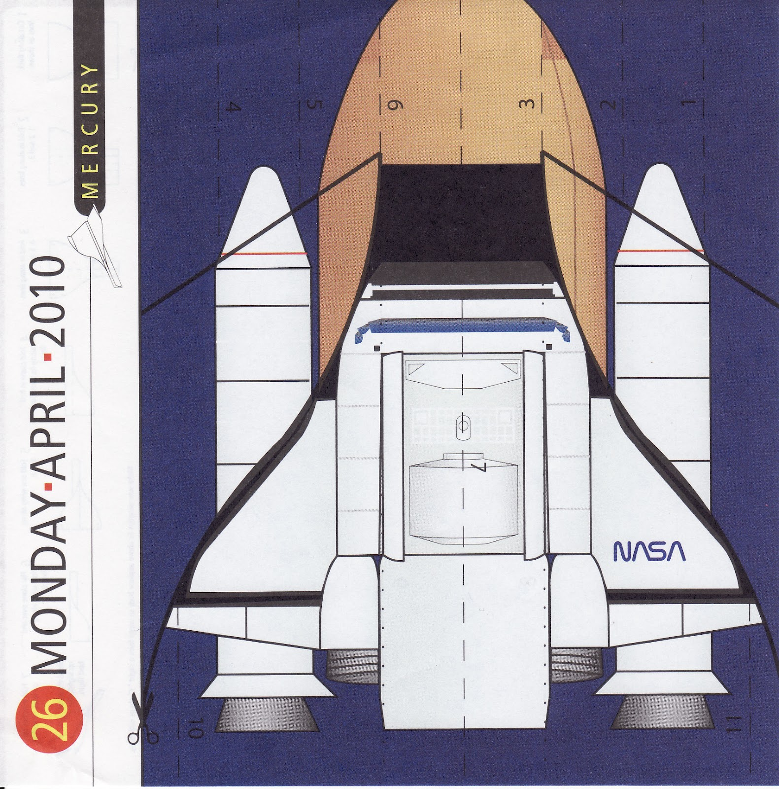 Make a Paper Space Shuttle - Pics about space