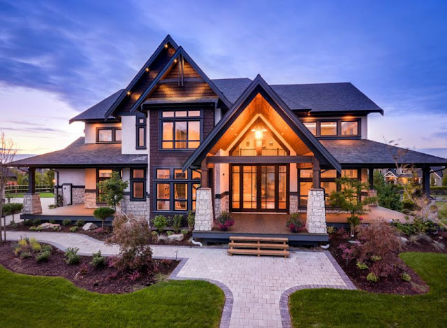 Here are 66 photos of houses with a stone exterior design. They look lovely and remind us of castles in history. If you are looking for some exterior ideas using stones or bricks, this post is for you.