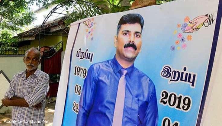 Cristiano de Sri Lanka muere por defender iglesia