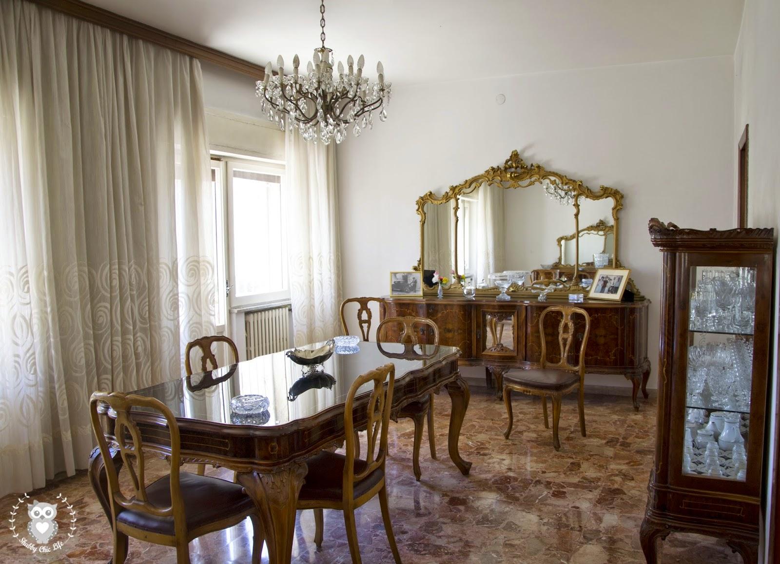 Sala Da Pranzo Shabby Chic : Mobili sala da pranzo shabby creamaricrea sos mobili anni