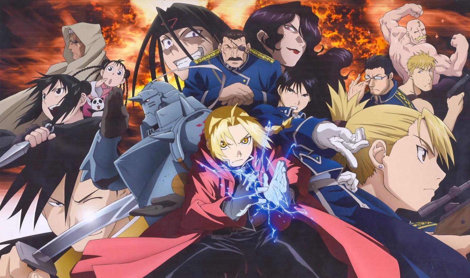 Anime Action Fantasy Terbaik