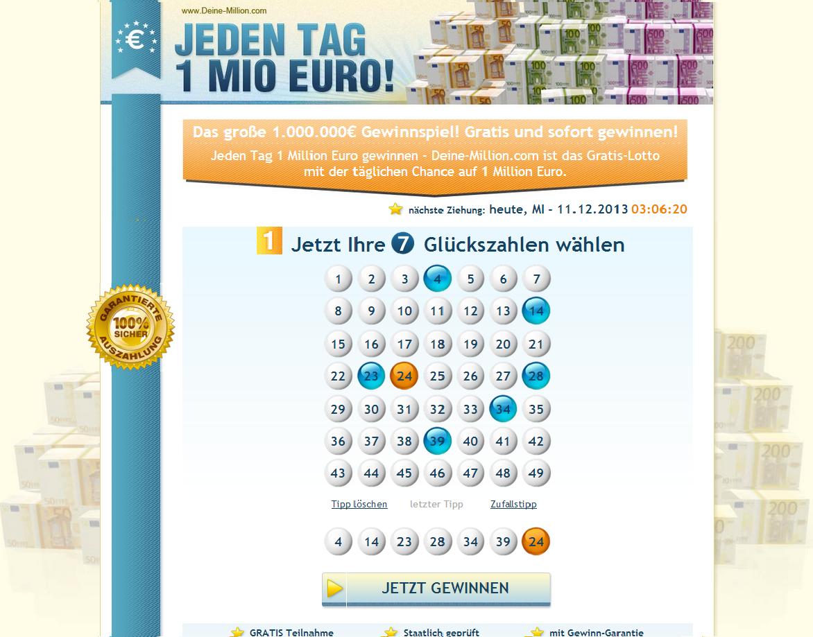 Lotto 5 Richtige