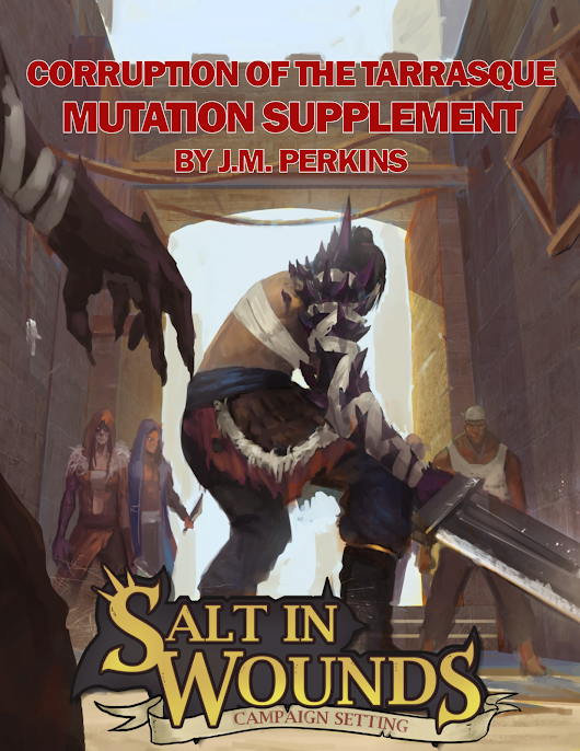 Corruption of the Tarrasque: Mutation Supplement Available for Sale Now