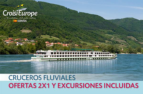 ► CROISIEUROPE - Cruceros fluviales - Ofertas 2 x 1 y excursiones incluidas