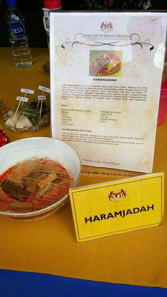 lauk haram jadah, menu haram jadah, menu istimewa