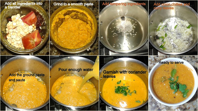 images of Easy Thakkali Kuzhambu Recipe / Thakkali Kulambu / Tomato Kulambu Recipe / Tomato Gravy / Coimbatore Style Thakkali Kuzhambu - Kulambu for Idly/dosa