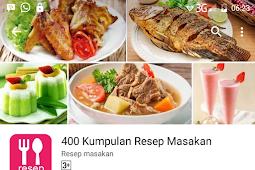 Miliki Aplikasi Aneka Resep Masakan Indonesia