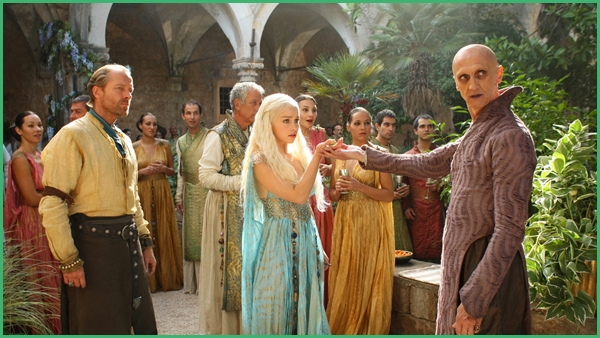 Daenerys and Jorah in Qarth, The Ghost of Harrenhal, Game of Thrones