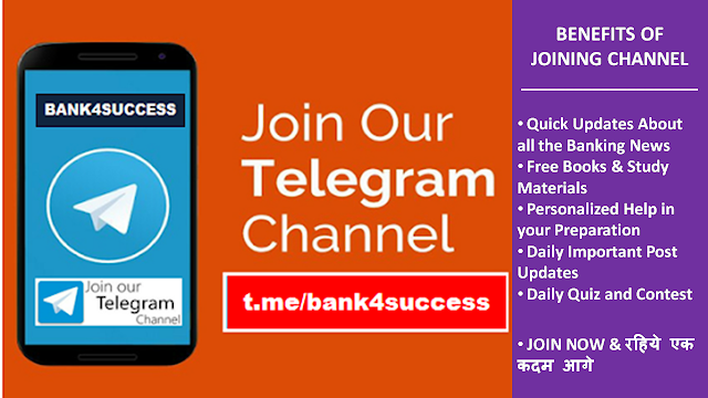 Join bank4success Telegram Channel Now