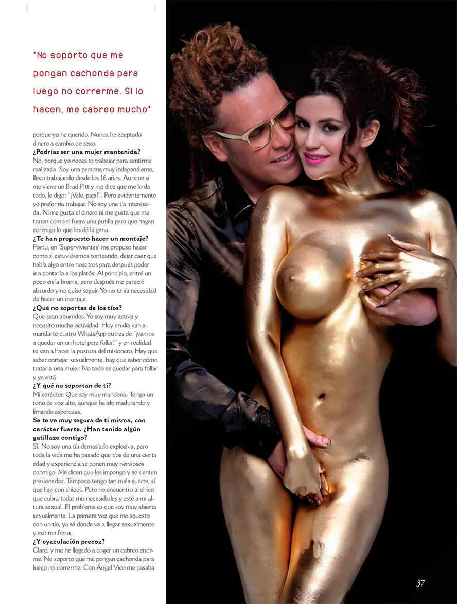 Lola Ortiz Posando Desnuda Para La Revista Primera Línea - +Fotos Foto 1
