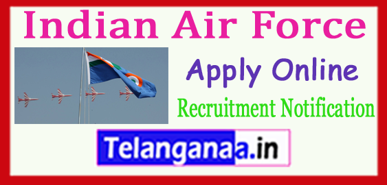 Indian Air Force Recruitment Notification 2017 Apply