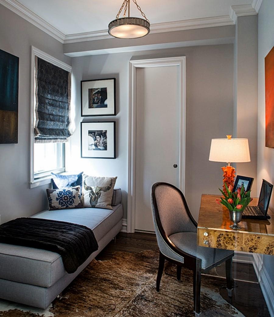 Decoração de Home office pequeno e simples: 50 Fotos ...