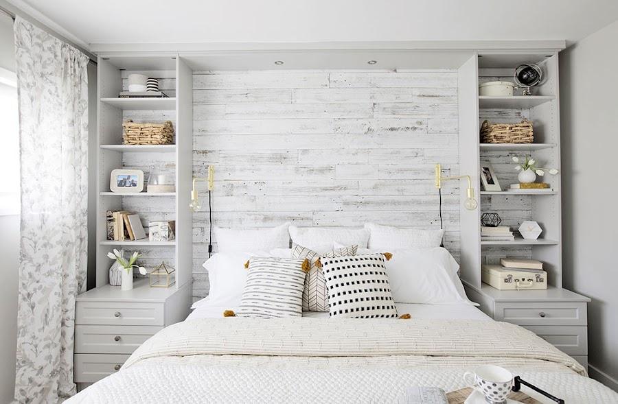 dormitorio detalles rústicos