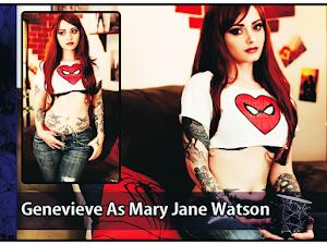 Genevieve As Mary Jane Watson