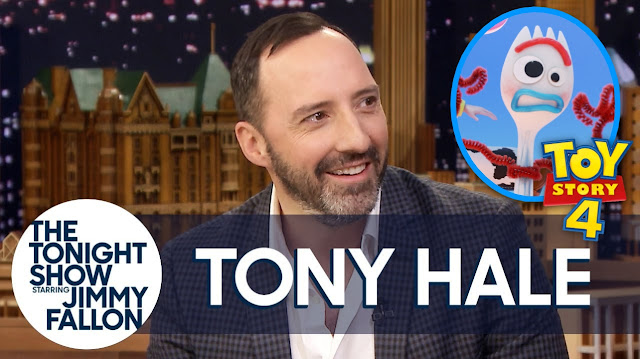Tony Hale discusses Toy Story 4 and Forky on the Tonight Show