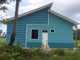 Bina rumah setingkat atas tanah sendiri