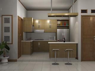 kitchen set minimalis kumpulan gambar desain terbaru 2015