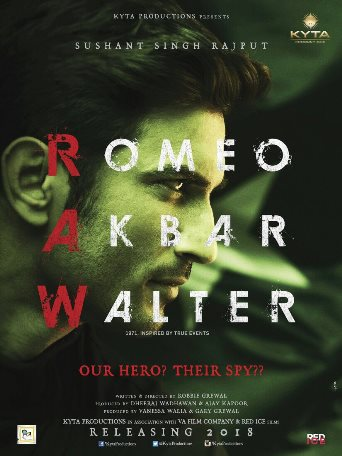 full cast and crew of Bollywood movie Romeo Akbar Walter 2018 wiki, Sushant Singh Rajput, Romeo Akbar Walter story, release date, Romeo Akbar Walter Actress name poster, trailer, Video, News, Photos, Wallapper