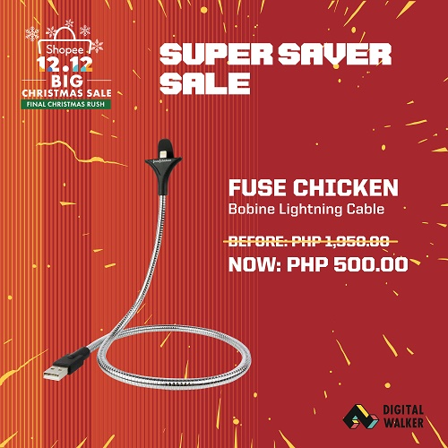 Bobine Lightning Cable at Php500