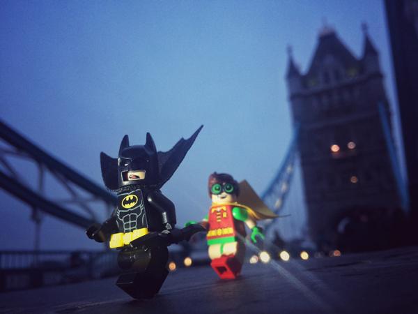 Batman at Tower Bridge