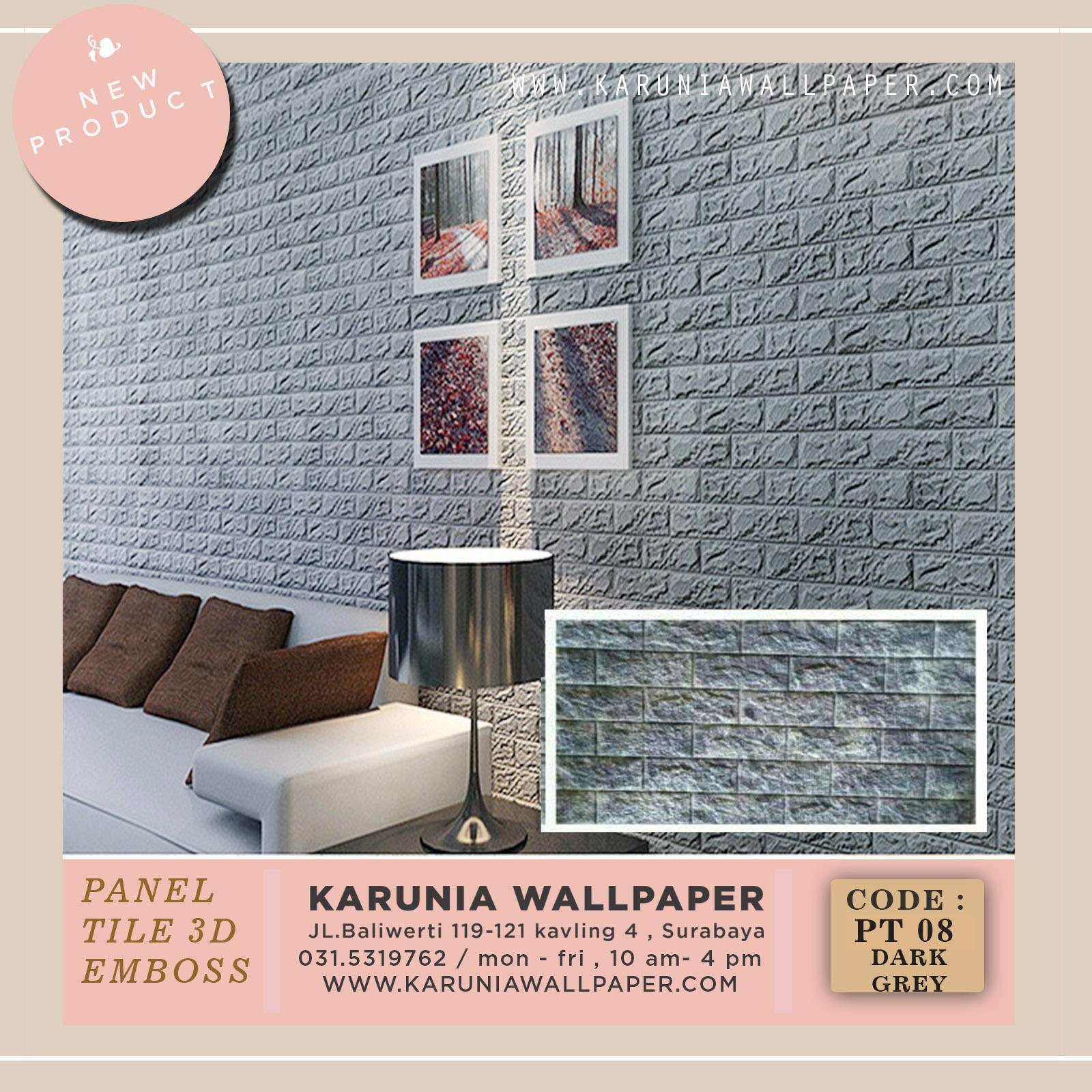 jual dinding  batu bata panel 3d foam wallpaper surabaya