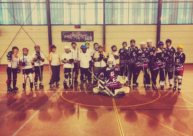 roller hockey evry boutigny inline patin cross match rencontre amical