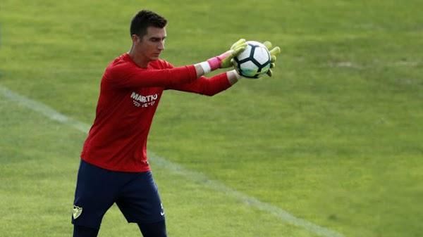 El Málaga apunta a ceder a Andrés Prieto al Albacete