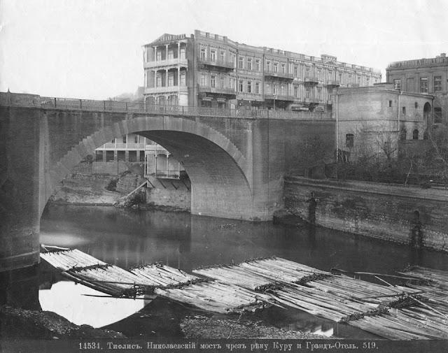 """Узнаете Сухой мост в Тбилиси? Он не всегда был """"сухим"""""""