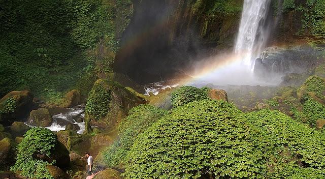 tempat wisata hits Air Terjun Coban Pelangi di malang