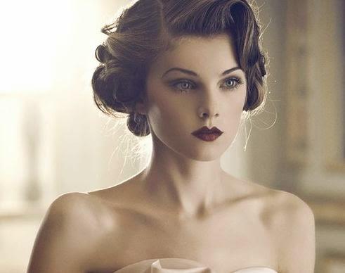 1 100 peinados vintage que no pasan de moda Enfemenino - Peinados Vintage Cabello Corto